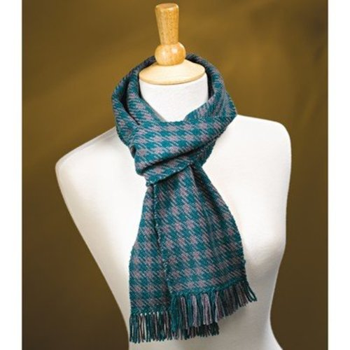 Valley Yarns #58 Shepherd's Check Scarf PDF -  ()