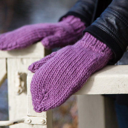 Valley Yarns 581 Last Minute Mittens (Free) -  ()