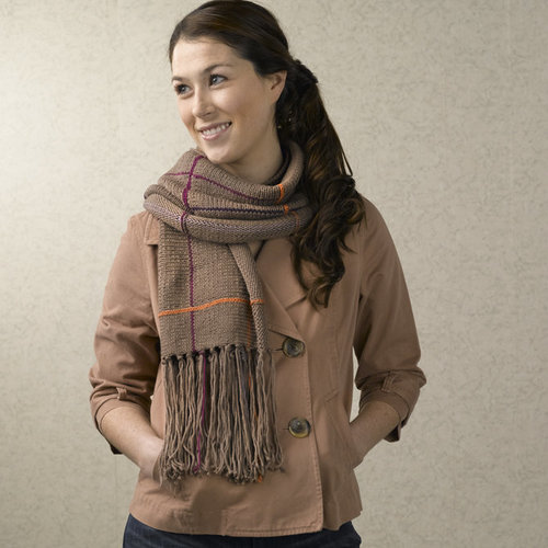 Valley Yarns 582 Hen Plaid Wrap - Download (582)