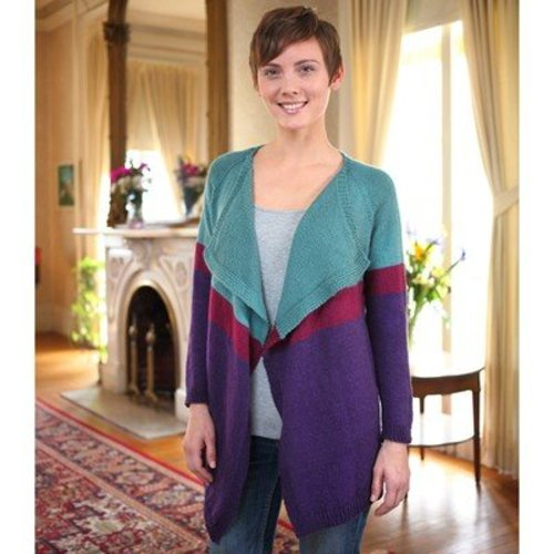 Valley Yarns 605 Colorfall Cardigan - Download (605)
