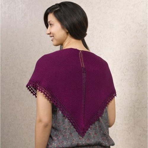 Valley Yarns 613 Simple Shawl - Download (613)