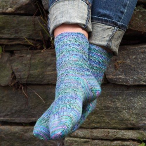 Valley Yarns 624 Cobblestone Socks - Download (624)