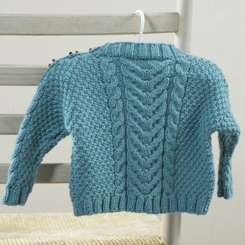 Valley Yarns 630 Martius Baby Pullover - Download (630)
