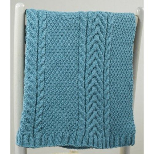 Valley Yarns 631 Martius Baby Blanket - Download (631)