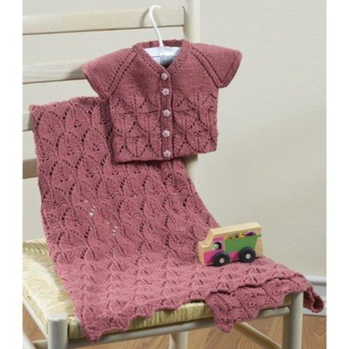 Valley Yarns 633 Aprilis Baby Blanket - Download (633)