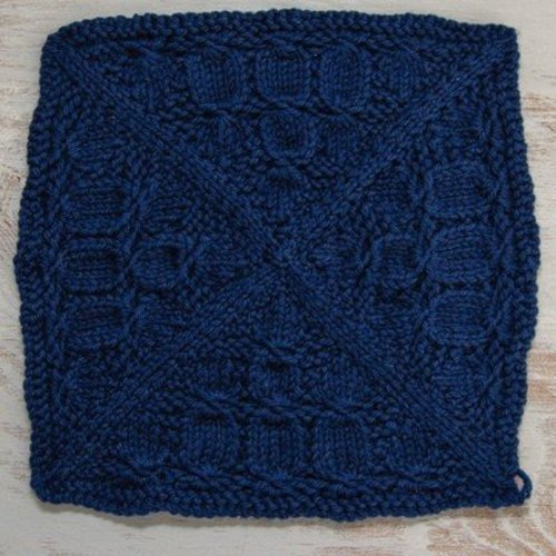 Valley Yarns 643 Mystery Knit-A-Long Blanket (Free) -  ()