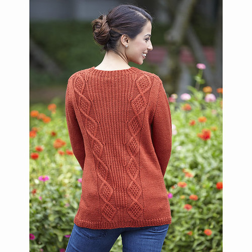 Valley Yarns 653 Converging Cables Cardigan - Download (653)