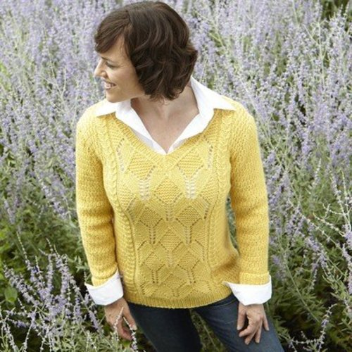 Valley Yarns 665 Thatch Pullover - Download (665)
