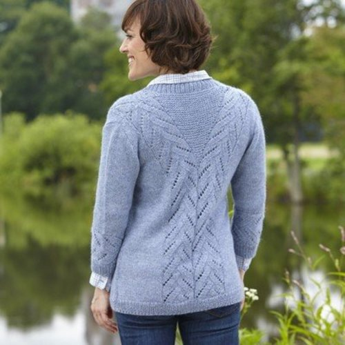 Valley Yarns 668 Mill River Cardigan - Download (668)