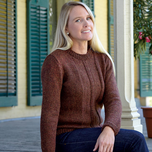 Valley Yarns 675 Post and Beam Pullover - Download (675)