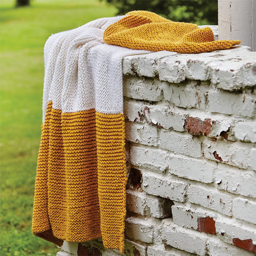 Valley Yarns 676 Two Tone Blanket - Download (676)