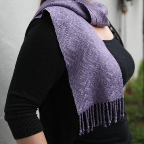 Valley Yarns #69 6-Shaft Scarf in 5/2 Bamboo PDF -  ()