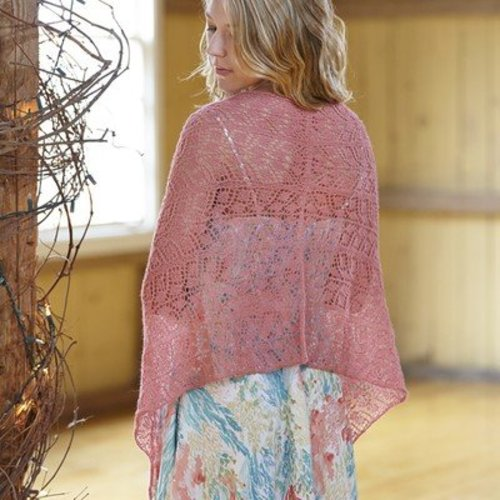 Valley Yarns 693 Magda Shawl - Download (693)