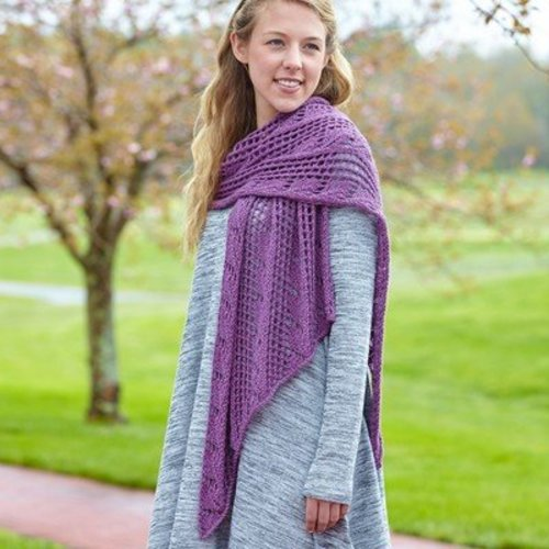 Valley Yarns 698 Helena Shawl - Download (698)