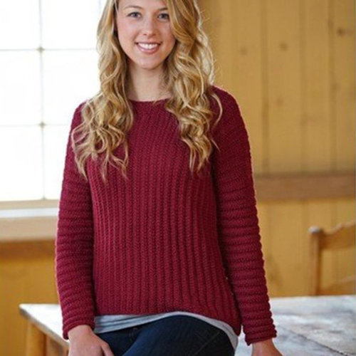 Valley Yarns 701 Dagna Pullover - Download (701)