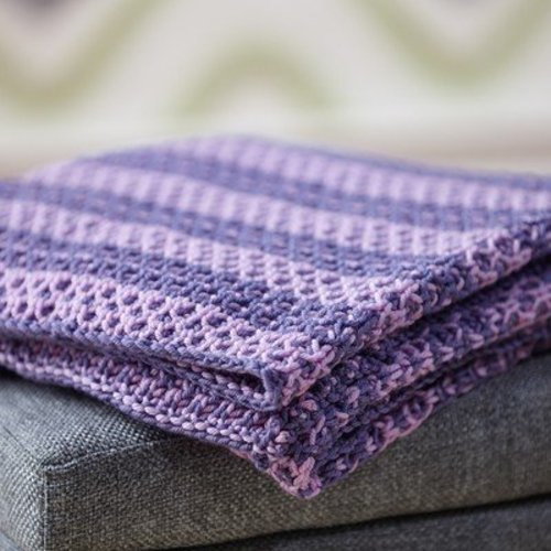 Valley Yarns 705 Runa Baby Blanket - Download (705)