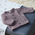 Valley Yarns 707 Frida Baby Cardigan Kit - 0-6 mo (01)