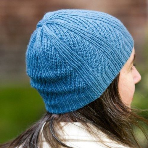 Valley Yarns 714 Oblique Hat - Download (714)