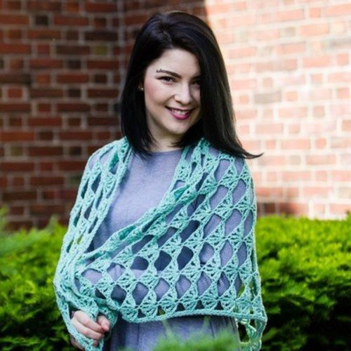 Valley Yarns 718 Arkose Shawl - Download (718)