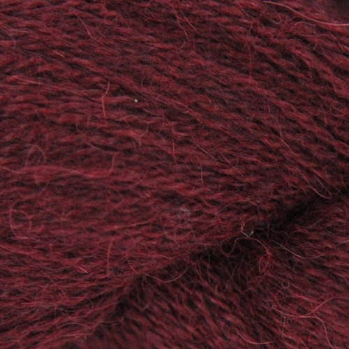 Valley Yarns 720 Poet's Corner Shawl Kit - Burgundy (BURG)