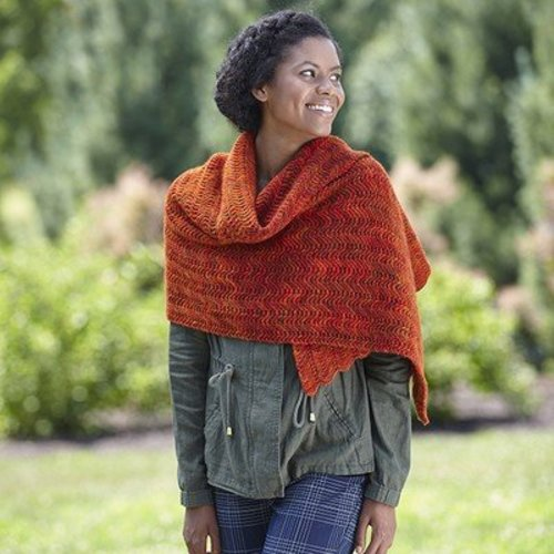 Valley Yarns 724 Eliska Shawl - Download (724)