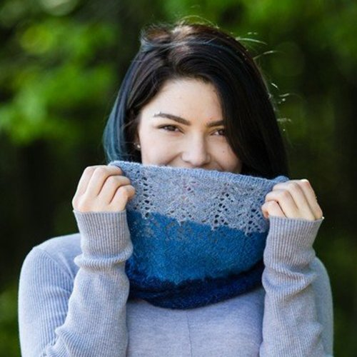 Valley Yarns 732 Anthemis Cowl - Download (732)