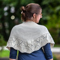 Valley Yarns 736 Ansonia Shawl Kit - Natural (NAT)