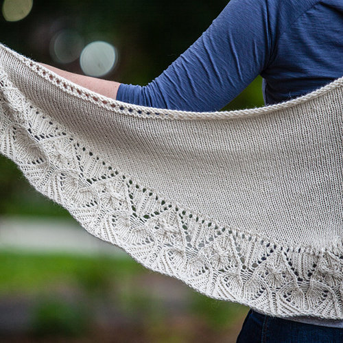 Valley Yarns 736 Ansonia Shawl -  ()