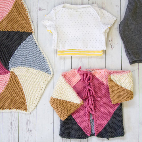 Valley Yarns 739 Abella Baby Set - Download (739)