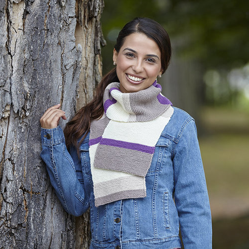 Valley Yarns 741 Cadence Scarf - Download (741)