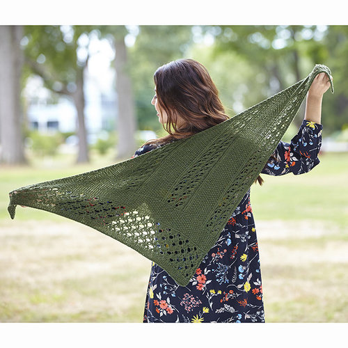 Valley Yarns 747 Montaine Shawl - Printed (747P)