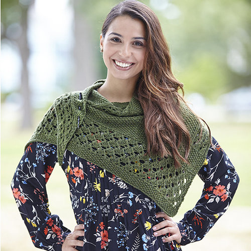 Valley Yarns 747 Montaine Shawl - Download (747)