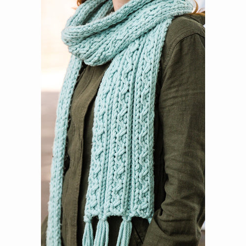 Valley Yarns 754 Ziggy Scarf - Download (754)