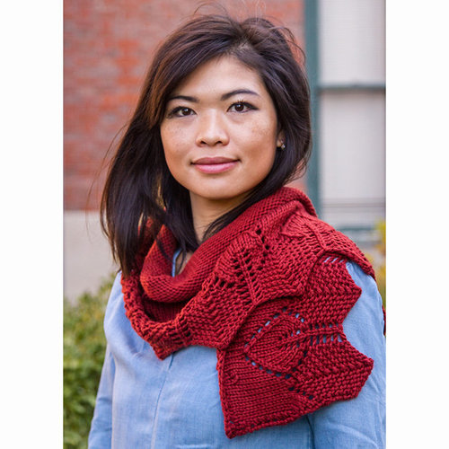 Valley Yarns 764 Firelight Shawl Kit - Rust (01)