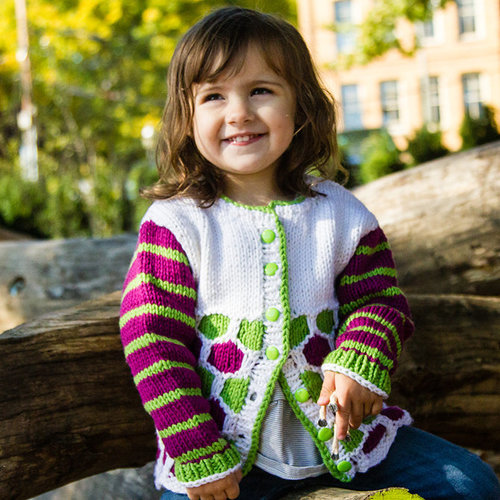 Valley Yarns 765 Honeycomb Child's Cardigan - Download (765)