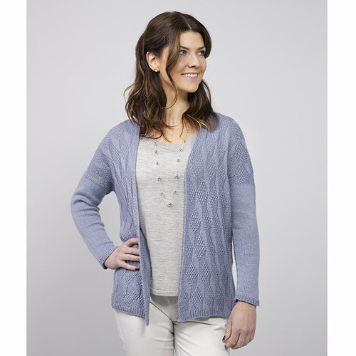 "Valley Yarns 768 Neves Cardigan Kit - 36"" (01)"