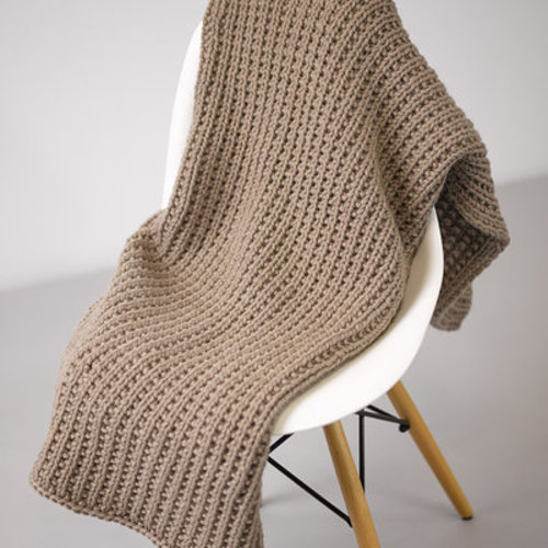 Valley Yarns 773 Tavares Blanket Kit - Tan (002)