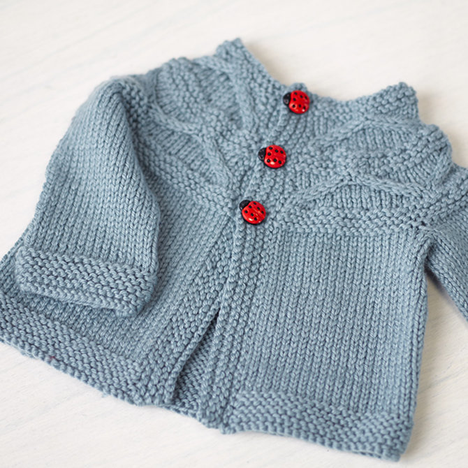 a25f729d7bf6 Valley Yarns 774 Harper Baby Cardigan at WEBS