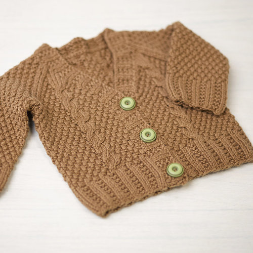 Valley Yarns 776 Maple Baby Cardigan - Download (776)