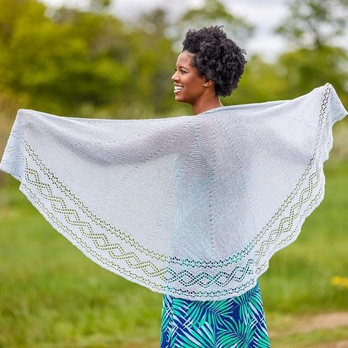 Valley Yarns 781 Teagan Shawl - Download (781)