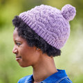 Valley Yarns 788 Kelsey Hat Kit - Lavender Mist (01)
