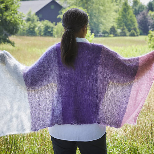 Valley Yarns 790 Cold Spring Shawl - Download (790)