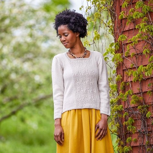 "Valley Yarns 793 Beith Pullover Kit - 32"" (01)"