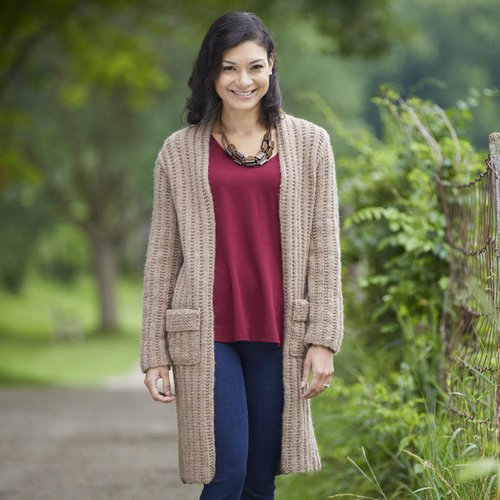 "Valley Yarns 798 Illi Cardigan Kit - 36"" (01)"