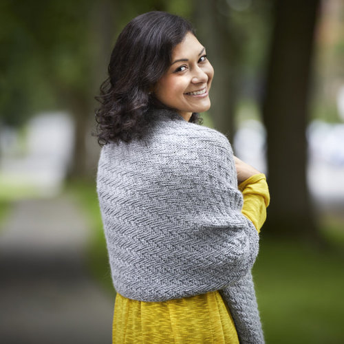 Valley Yarns 801 Takama Wrap - Download (801)