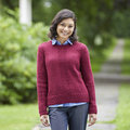 "Valley Yarns 803 Garnet Pullover Kit - 36-38"" (02)"
