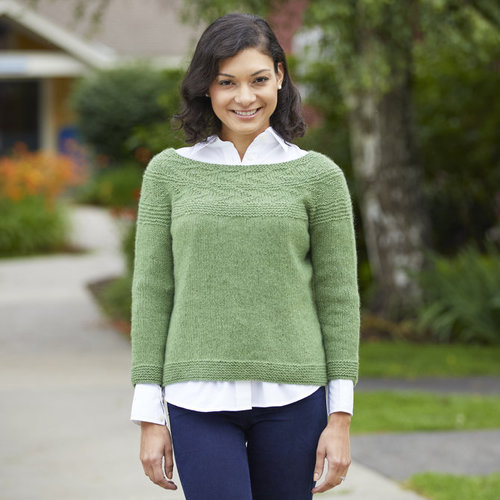 "Valley Yarns 806 Directional Pullover Kit - 34-36.75"" (01)"