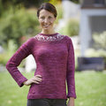 "Valley Yarns 818 Stone Rose Pullover Kit - 32-36"" (01)"