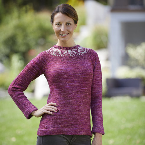 Valley Yarns 818 Stone Rose Pullover - Download (818)
