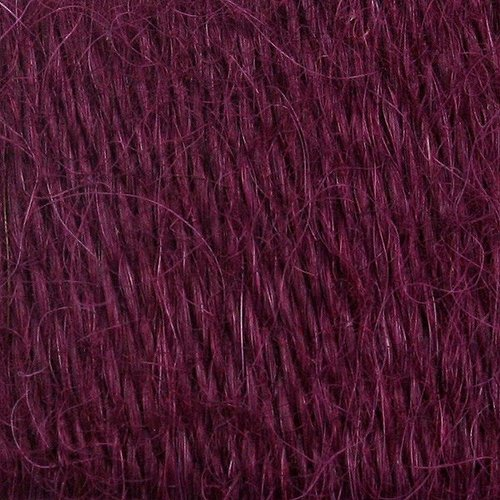 Valley Yarns 819 Pinion Feather Wrap Kit - Summer Plum - Model (01)